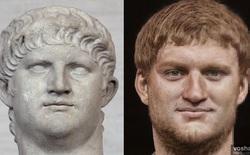 Đây chính là khuôn mặt thật của các hoàng đế La Mã huyền thoại, được AI phục dựng từ tượng điêu khắc trong bảo tàng