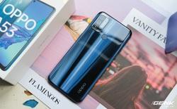 Cận cảnh smartphone giá rẻ OPPO A53 vừa ra mắt: 3 camera sau, màn 90Hz, pin 5000 mAh, sạc nhanh 18W, giá 4,49 triệu đồng