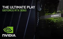 Nvidia ra mắt card đồ họa GeForce RTX 3060 12GB, giá 329 USD
