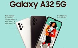 Smartphone 5G giá rẻ nhất của Samsung ra mắt: Chip Dimensity 720, pin 5.000 mAh, cụm camera sau lạ mắt, giá 7,9 triệu đồng