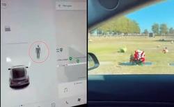 Đang di chuyển trên đường, xe Tesla bỗng nhiên phát hiện 'người vô hình' ở nghĩa trang hoang vắng?