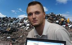 Lỡ tay vứt ổ cứng chứa 7500 Bitcoin, anh kĩ sư quyết chi 72 triệu USD để xới tung bãi rác tìm 'kho báu'