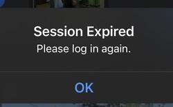 """Facebook bị đăng xuất liên tục, người dùng hoang mang vì sợ bị """"hack"""" mất tài khoản"""