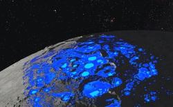 """Giả thuyết mới: nước trên Mặt Trăng do """"gió"""" từ Trái Đất thổi sang"""