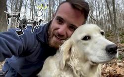 """Anh thanh niên dùng drone để giúp người lạ tìm chú chó """"chơi quên đường về"""" trong rừng suốt 10 ngày liền"""