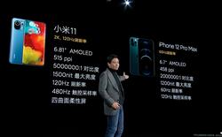 Xiaomi nói Mi 11 tốt hơn iPhone 12 Pro Max ở những điểm nào?