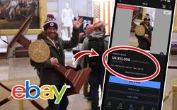 """Hài hước: sau bạo động, bục phát biểu ở Điện Capitol được rao bán trên eBay với giá khủng, cộng đồng mạng đua nhau """"cà khịa"""""""