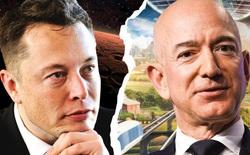 Elon Musk bình luận dạo trong bài đăng của Jeff Bezos, cà khịa 'ông chỉ là số 2 thôi, tôi mới giàu số 1'