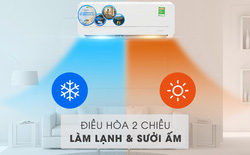 Chế độ sưởi của điều hòa 2 chiều hoạt động thế nào, có tốn điện hơn làm lạnh không?