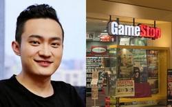 """""""Đu đỉnh"""" GameStop, nhà sáng lập đồng TRX, Justin Sun lỗ đến 80% chỉ sau 2 tuần"""