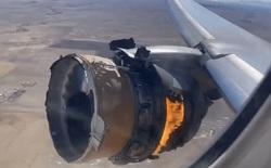 """Máy bay của United Airlines đang bay thì """"rụng"""" động cơ xuống Colorado"""