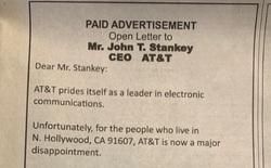 Mạng lag, cụ ông 90 tuổi đăng quảng cáo lên báo lớn để phàn nàn với CEO