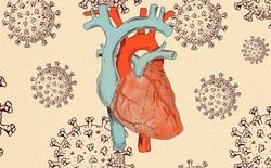 Khoảng 3/4 bệnh nhân COVID-19 có những con virus trong tim mình