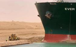 Cách theo dõi trực tiếp tàu khổng lồ mắc kẹt tại kênh đào Suez