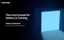 Samsung sẽ ra mắt thiết bị Galaxy mạnh nhất từ trước đến nay vào ngày 28 tháng 4
