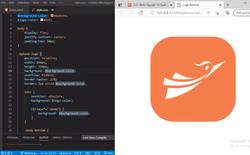"""Không cần Photoshop hay Illustrator, người dùng vẽ icon """"công nghệ lõi"""" của BKAV bằng HTML và CSS"""