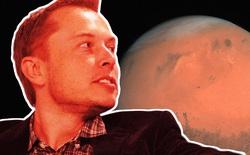 Elon Musk tự xưng mình là 'Hoàng đế sao Hỏa'