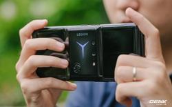 """Trên tay """"máy chơi game"""" Lenovo Legion Phone Duel 2 tại VN: Thiết kế độc lạ, camera selfie """"thò thụt"""", có 2 quạt tản nhiệt, 2 cổng sạc, giá chỉ từ 13.8 triệu đồng"""