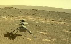 Trực thăng NASA vừa lập kỳ tích với chuyến bay lịch sử đầu tiên của loài người trên Sao Hỏa