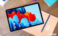 """Trên tay Galaxy Tab S7 phiên bản Xanh Navy: thiết kế sang trọng, màu đẹp, cấu hình """"khủng"""", giá bán không đổi"""
