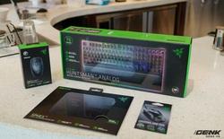 Trên tay bàn phím cơ Razer Huntsman V2 Analog: Switch Analog quang học mang đến trải nghiệm mới trong gaming, keycap nhựa PBT doubleshot, lót kê tay được cải tiến hơn so với bản trước