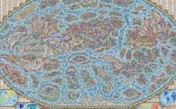 Nhà thiết kế tạo 'bản đồ Internet' với 3.000 trang web là các quốc gia