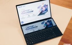 """Cận cảnh Asus ZenBook Duo 14"""": Laptop hai màn hình mỏng nhẹ nhất thế giới, giá từ 33.9 triệu đồng"""