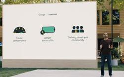 Google và Samsung hợp nhất Wear OS và Tizen