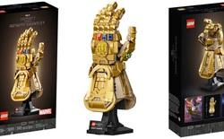 """LEGO ra mắt mô hình Găng vô cực gồm 590 miếng ghép, có thể tạo hình """"búng tay tanh tách"""" như Thanos, giá hơn 1,6 triệu đồng"""