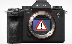 Máy ảnh Sony Alpha 1 gặp lỗi về hệ thống chống rung cảm biến IBIS
