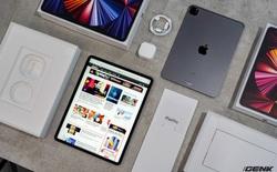 Mở hộp iPad Pro 2021: Ngoại hình không đổi, chip M1 mạnh mẽ, màn hình Mini LED trên bản 12,9 inch rất đẹp