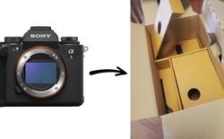 Mua máy ảnh Sony A1 từ Amazon: Món hàng trị giá 7.000 USD bỗng chốc hóa thành hộp rỗng