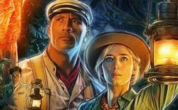 Trailer Jungle Cruise: The Rock hộ tống Emily Blunt đi thám hiểm rừng Amazon, cao to vạm vỡ là thế mà vẫn bị người đẹp đấm thẳng mặt không thương tiếc