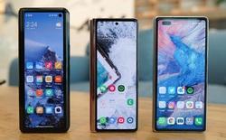 """Cùng làm smartphone màn hình gập, nhưng cả Xiaomi và Huawei đều đang ở """"chiếu dưới"""" so với Samsung"""