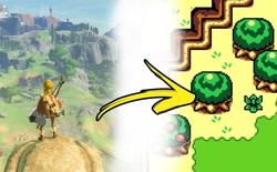 """Sẽ thế nào nếu kiệt tác game The Legend of Zelda: Breath of the Wild được """"16-bit hóa"""" theo phong cách đồ họa GameBoy cổ điển?"""