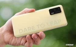 Trên tay Realme Q3 Pro: Màn hình AMOLED 120Hz, chip Dimensity 1100, camera 64MP, giá 6.2 triệu đồng