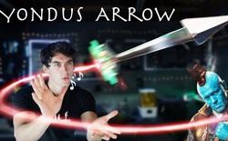 Đây là mũi tên có thể bay lượn và tự động chuyển hướng bằng tiếng huýt sáo, hệt như trong phim của Marvel