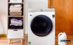 Trải nghiệm thực tế máy giặt Samsung AI: Kết nối trực tiếp với điện thoại, đo được khối lượng độ bẩn quần áo, giá bán 14 triệu đồng