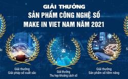 """Giải thưởng """"Sản phẩm Công nghệ số Make in Viet Nam"""" năm 2021 sắp được phát động"""