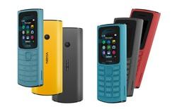Nokia 110 4G và Nokia 105 4G ra mắt với thiết kế mới