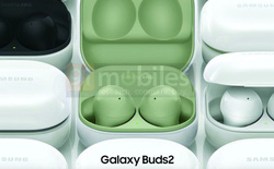 Galaxy Buds 2 lộ diện: Thiết kế giống Buds Pro, nhiều màu sắc, không có chống ồn, ra mắt cùng Galaxy Z Fold3