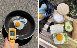 20 hình ảnh cho thấy cái nóng như thiêu đốt tại Mỹ và Canada: mặt đường nứt toát, nấu trứng không cần lửa