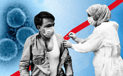 Vắc-xin COVID-19 cần tiêm đủ 2 liều, vì biến thể Delta đã kháng được một