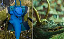 Có gì hay sau những cảnh quay của Loki: Biến thể cá sấu chỉ là thú nhồi bông, nàng đồng hồ Miss Minutes hóa ra lại là 1 cái đèn
