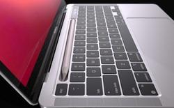 Lộ diện mô hình MacBook Pro với khay chứa bút cảm ứng