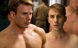"""Marvel đã """"thu nhỏ"""" cơ bắp của Chris Evans như thế nào để tạo ra một Steve Rogers còm nhom trong Captain America?"""