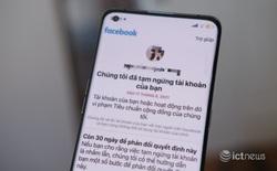 Nhiều tài khoản Facebook tại Việt Nam có nguy cơ bị khoá vĩnh viễn