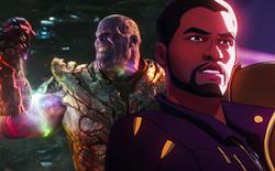 """MCU thay đổi thế nào trong tập 2 What If...?: Báo Đen biến thành Star-Lord, dùng """"võ mồm"""" để thuyết phục Thanos cải tà quy chính"""