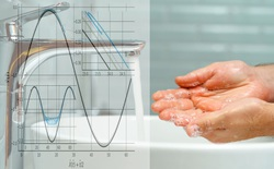 Làm sáng tỏ về mặt vật lý tác dụng của '20 giây rửa tay'