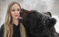 Cứu gấu con khỏi rạp xiếc, cô gái Nga tìm thấy bạn thân trọn đời